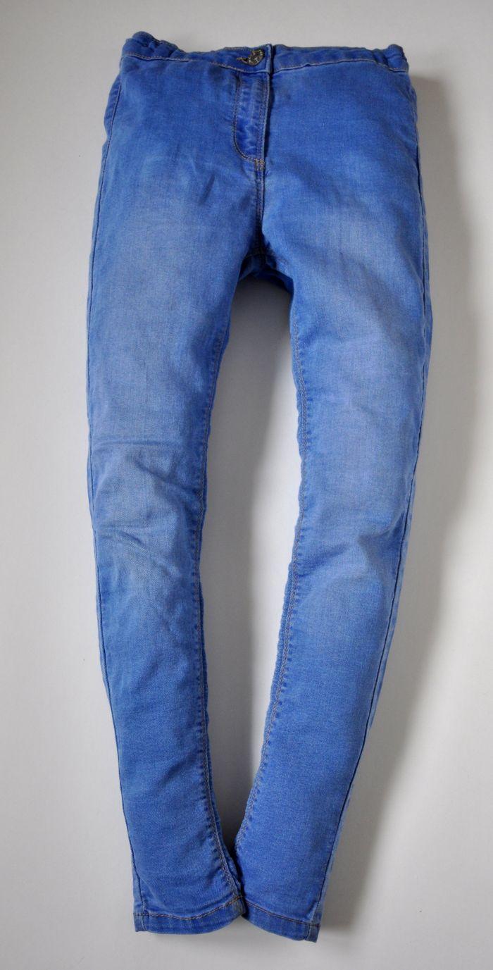 a9b403ac6c MATALAN Leginsy jeansowe 146cm 11lat PEREŁKA - 7155991895 ...