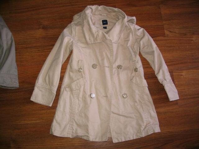 płaszczyk kurtka z kapturem Gap Kids 8-9 lat 134 P