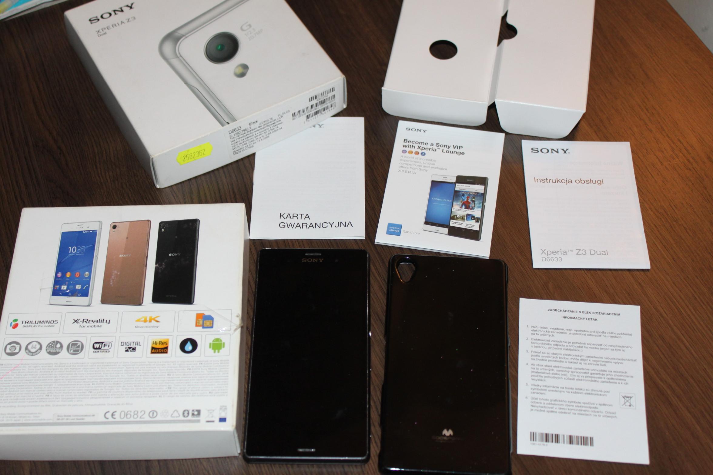 Sony Xperia Z3 Dual SIM D6633 SUPER STAN SALON