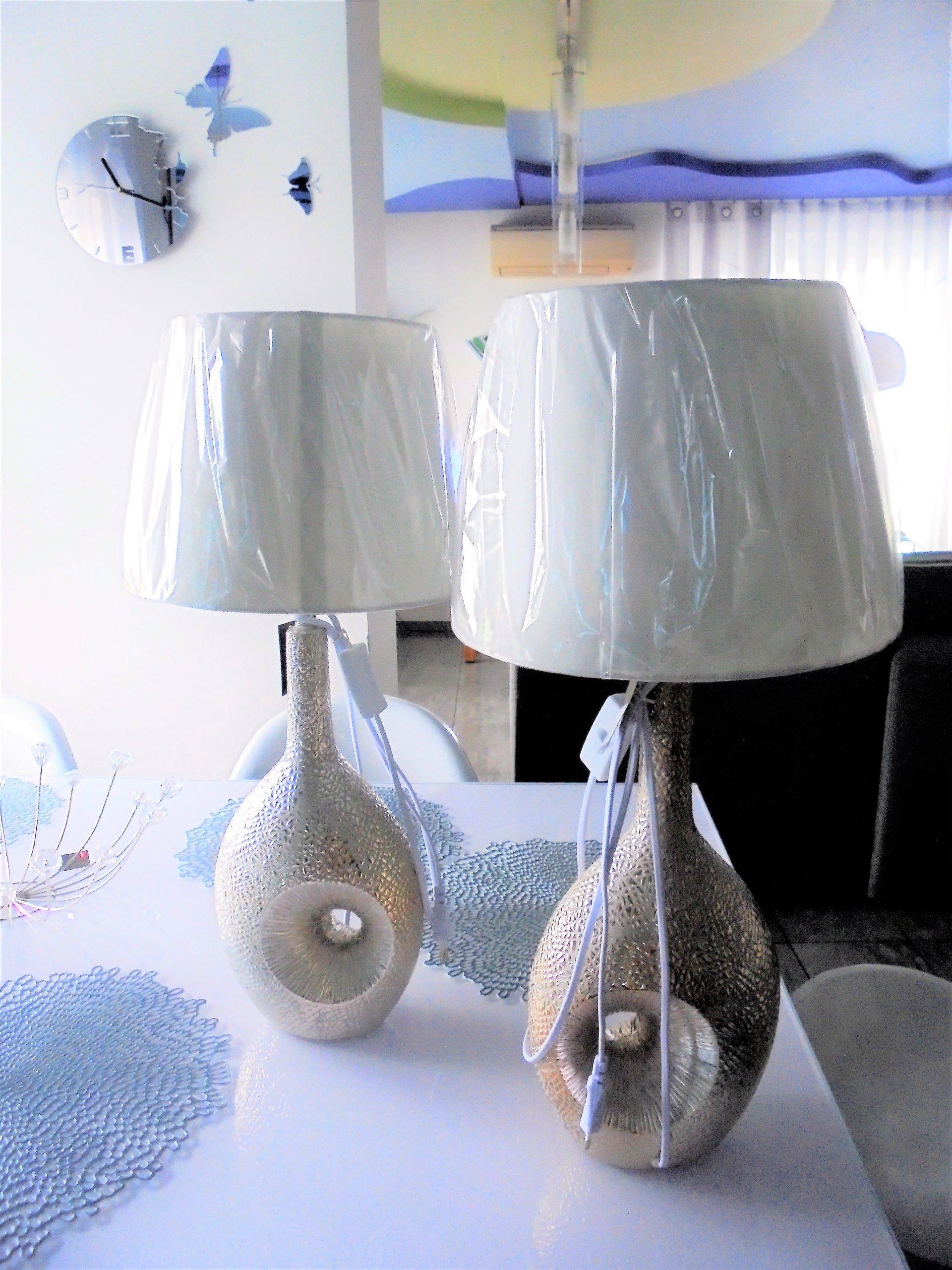 Homeyou Piękna Mega Duża Lampa Stołowa Esilio 7018532598