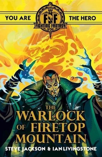 Znalezione obrazy dla zapytania fighting fantasy warlock