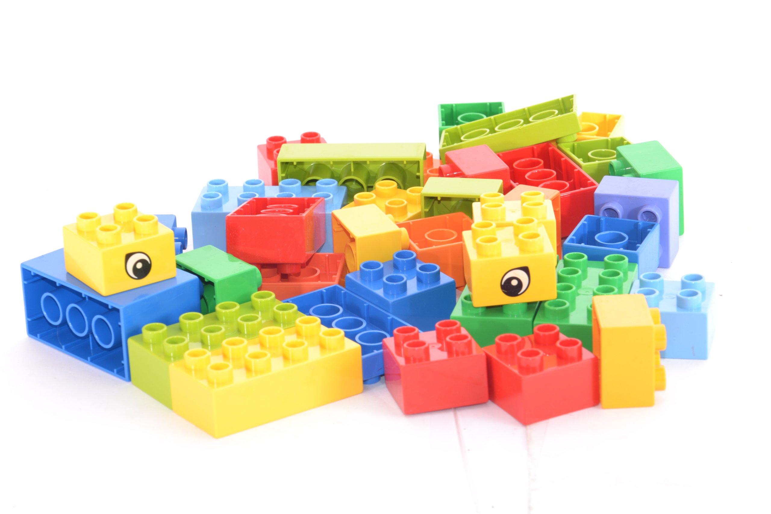 Lego Duplo Klocki Zestaw 35 Szt Różne Oczka
