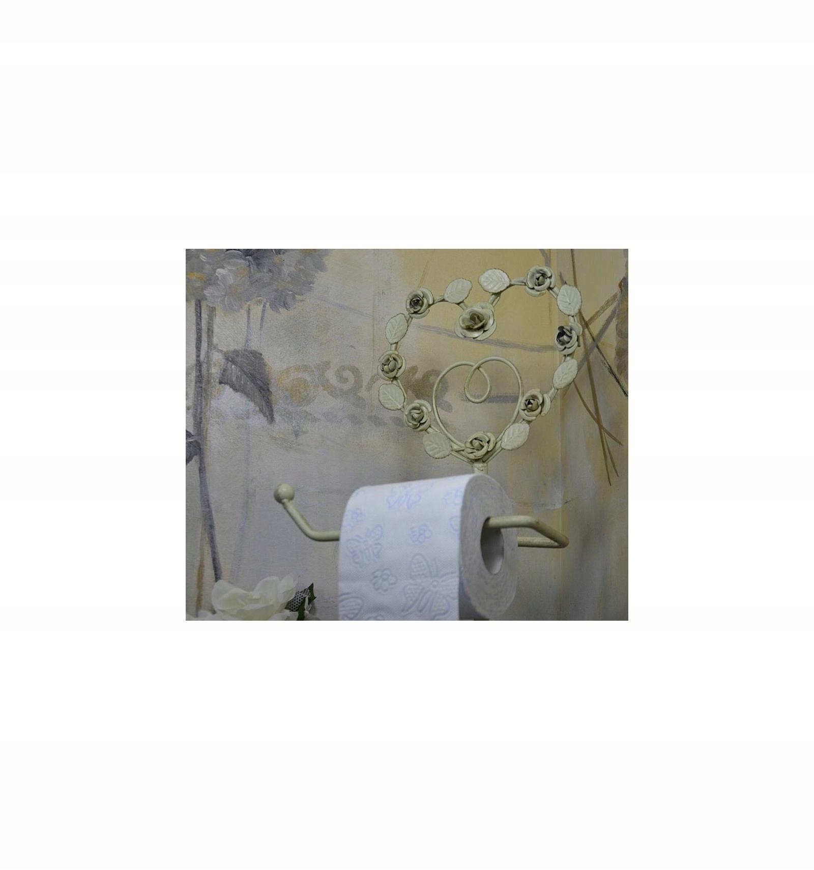 Metalowy Stojak Uchwyt Na Papier Toaletowy Retro 7538403605