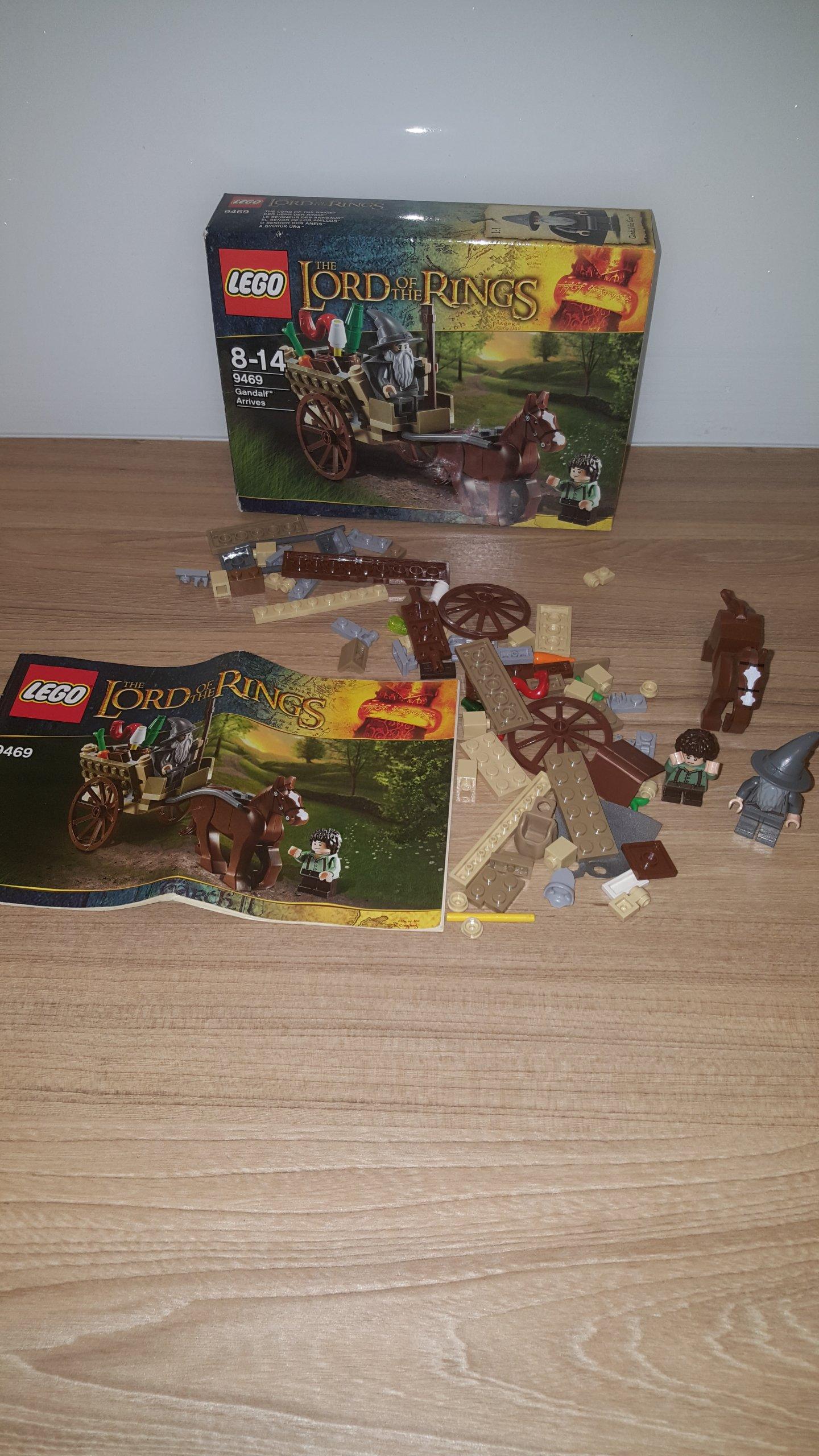 Lego Władca Pierścieni 9469 Przyjazd Gandalfa 7085749907