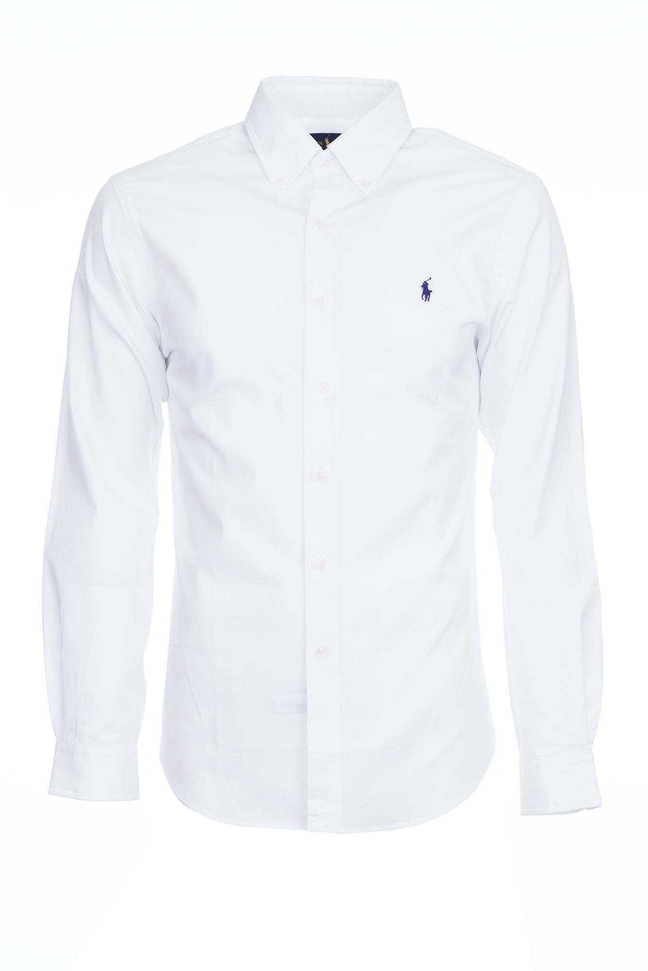495f10ea3 POLO Ralph Koszula męska biała Slim Fit Logo r XXL - 7194558866 ...