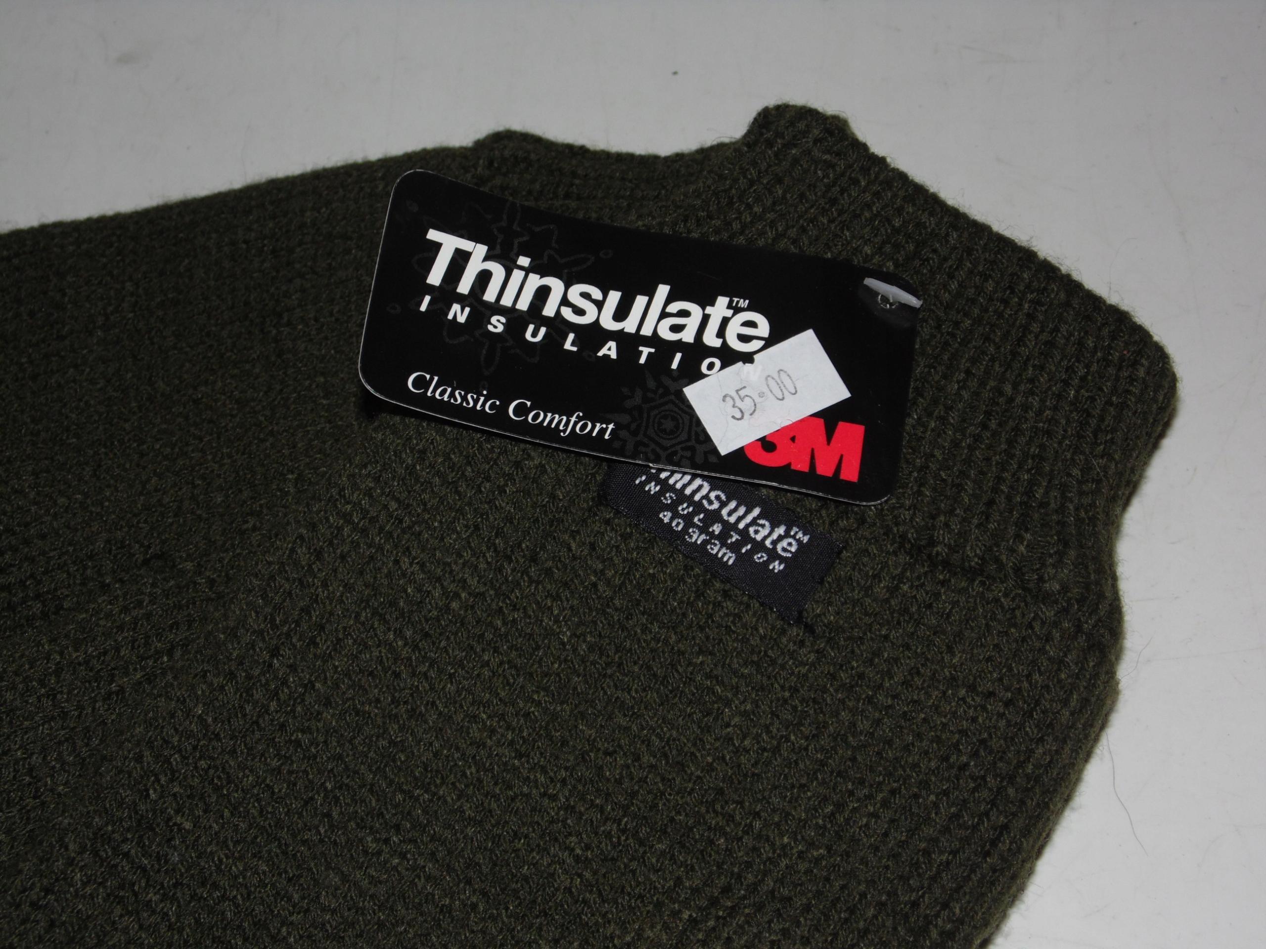 8d2c24932d1e45 Rękawiczki 3M Thinsulate dzianinowe ciepłe 1331 - 7703691396 ...