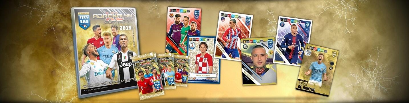 1b8c18fdc BLISTER karty piłkarskie FIFA 365 2019 PANINI - 7553356698 ...