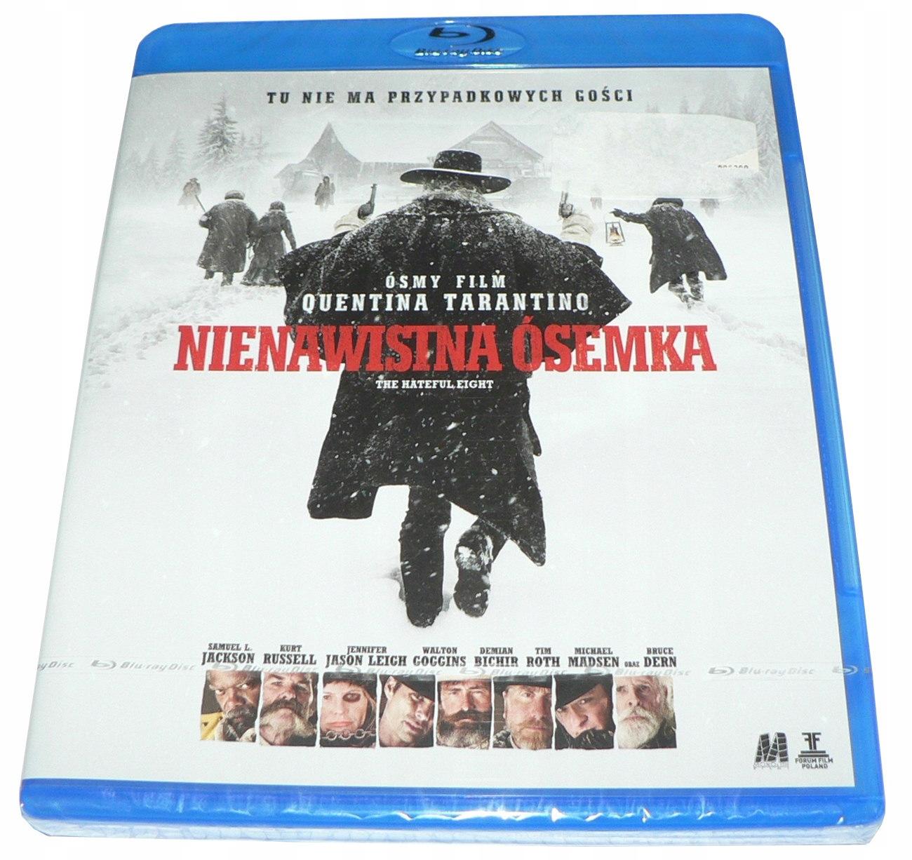 Blu-ray - Nienawistna ósemka -reż.Tarantino -FOLIA