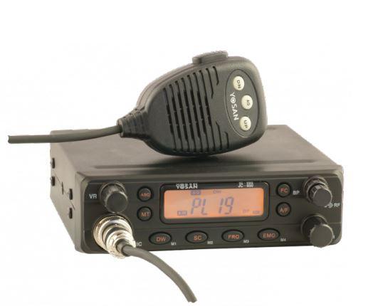 CB Radio Yosan JC 650 AM FM ASQ multistandard