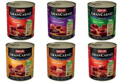 ANIMONDA GRANCARNO Gran Carno ADULT 30x800g MIX