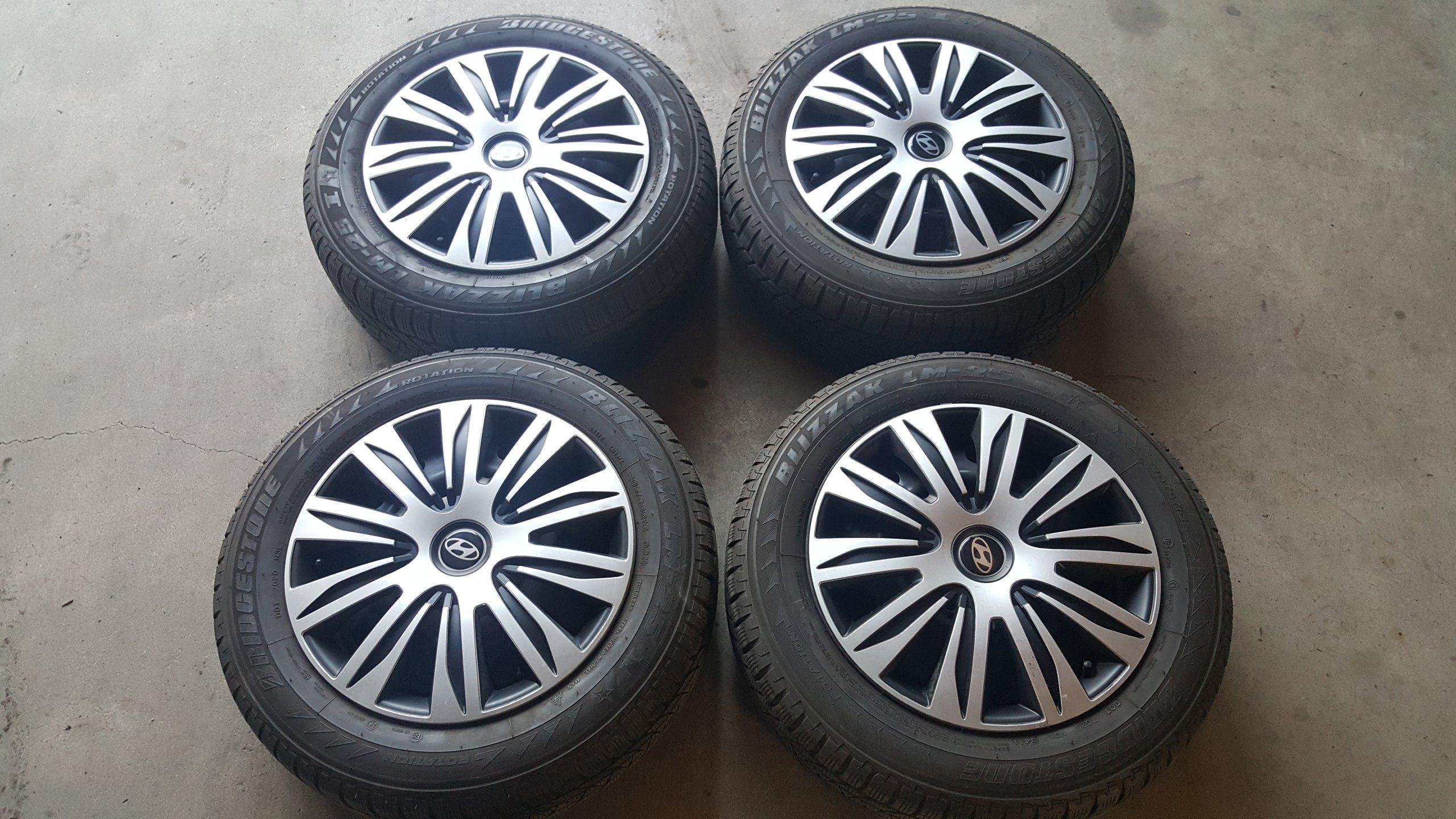 Felgi Opony Zimowe 20560 R16 Bridgestone Blizzak 7057006817