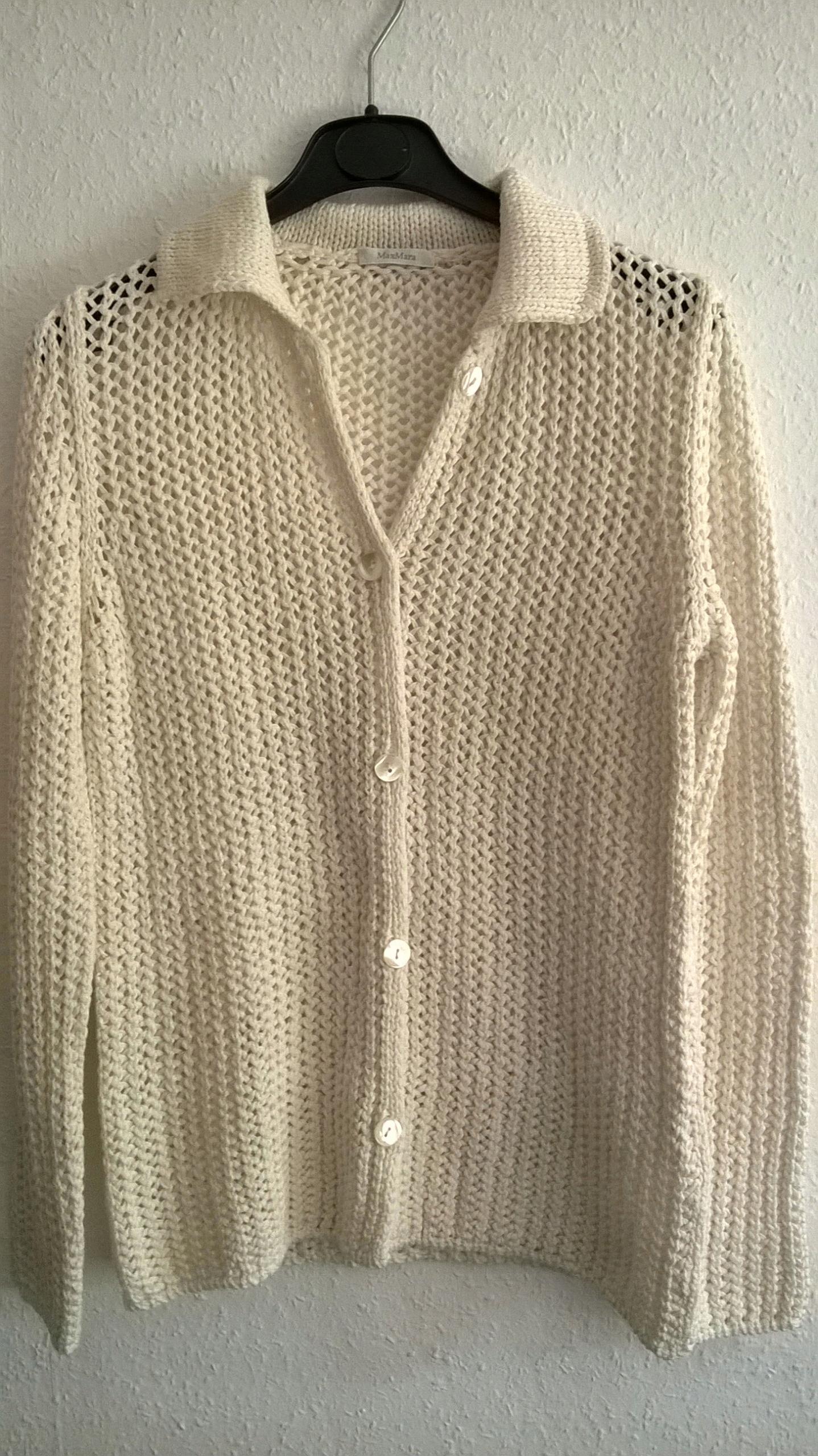 MaxMara - sweter - bawełna - roz.S Max Mara
