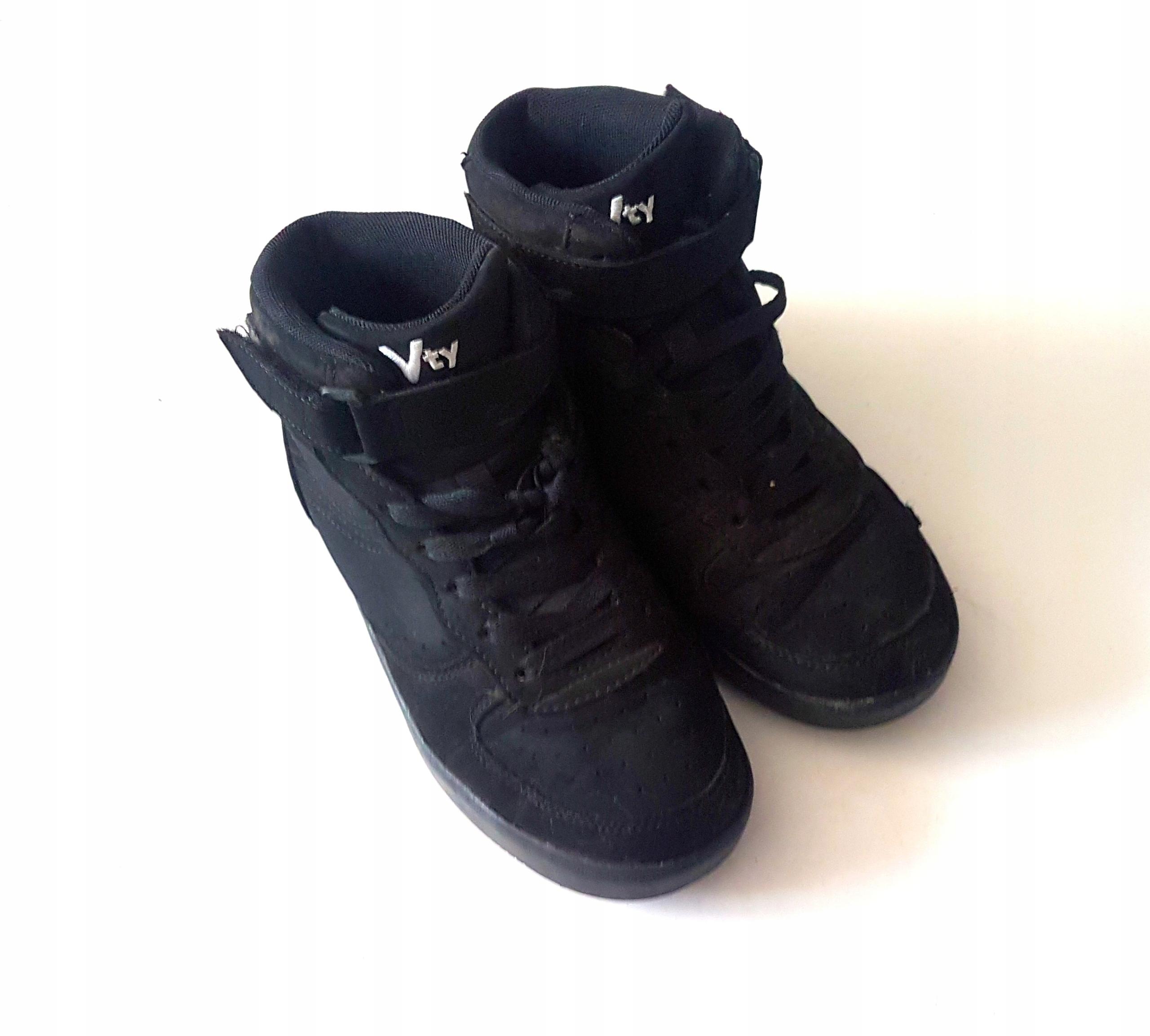 nowa wysoka jakość sprzedaż online oficjalny sklep Adidasy chłopięce wysokie za kostkę zima 36 24 cm