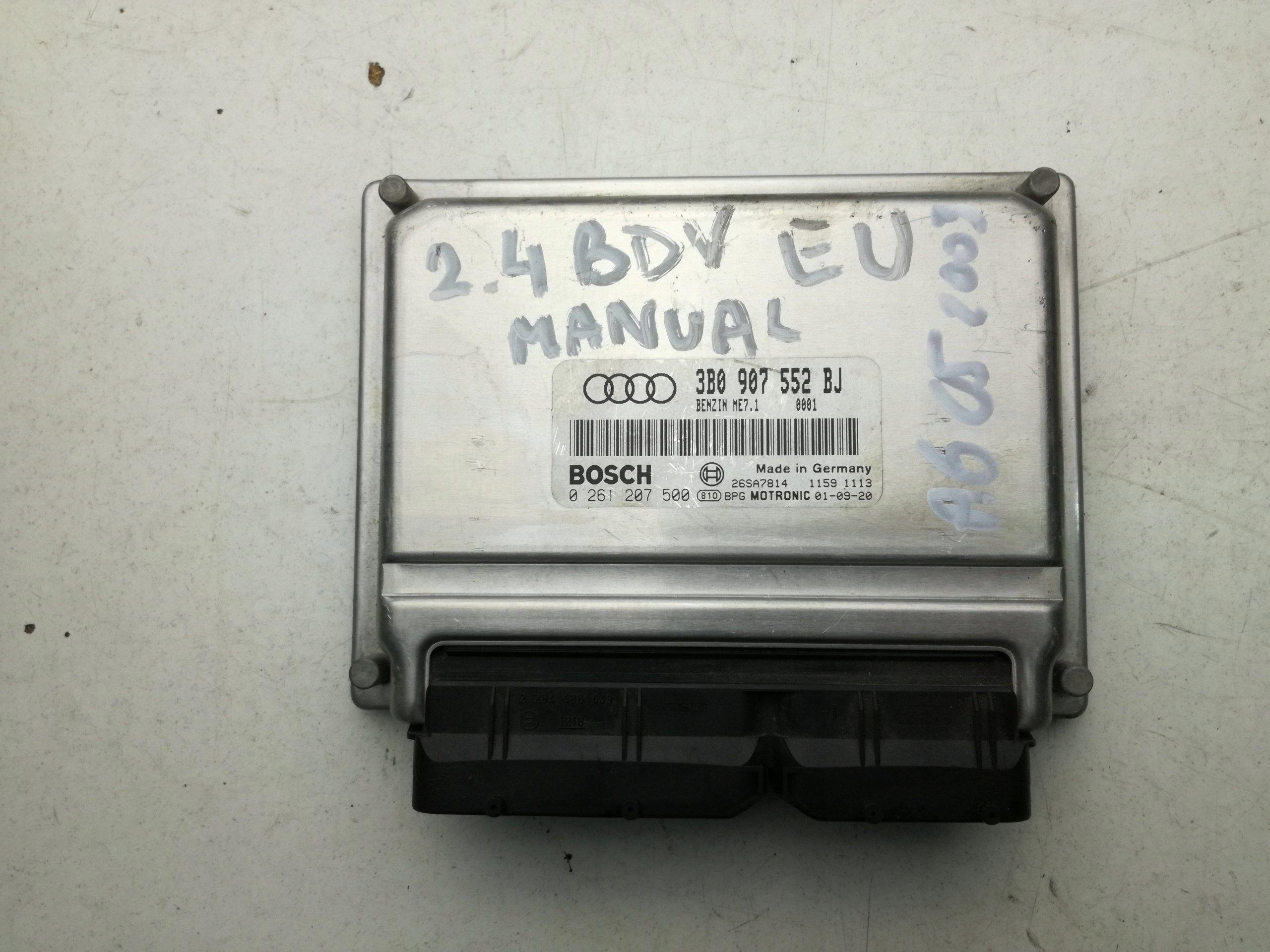 Sterownik Silnika Audi A6 C5 24 Bdv 3b0907552bj 7079017000