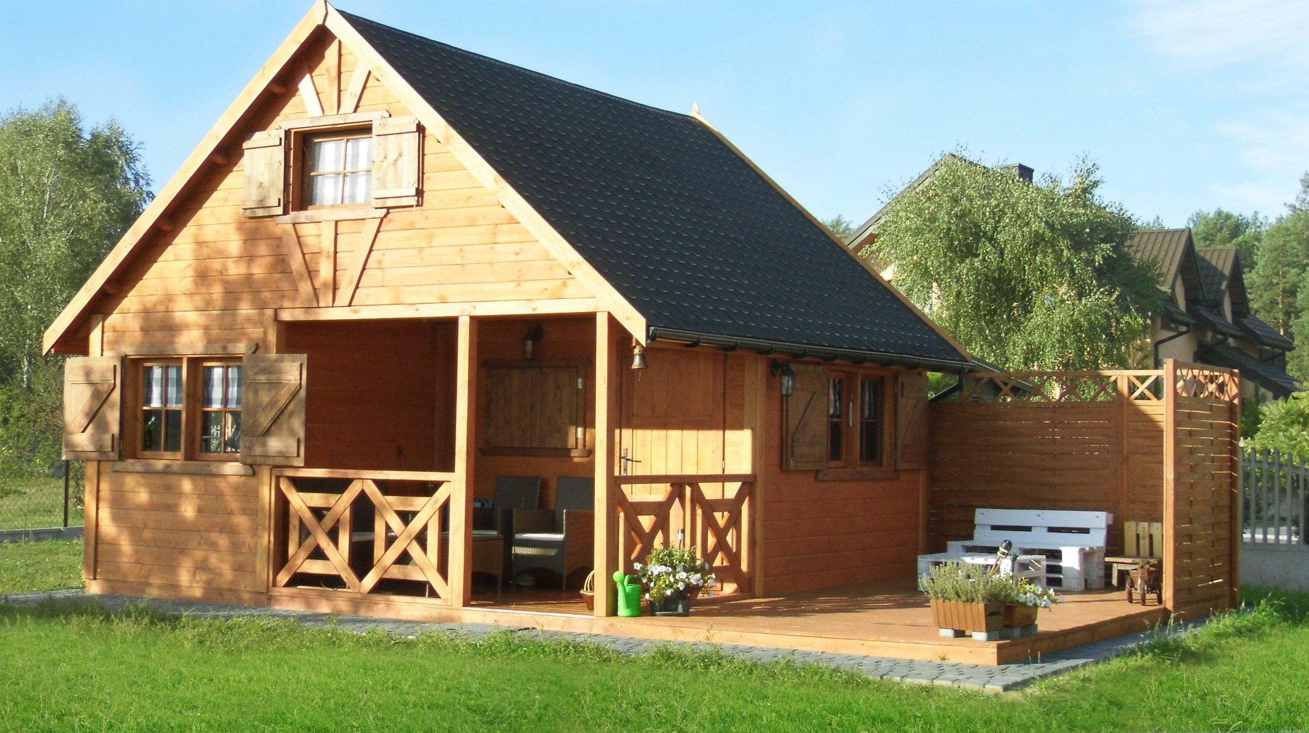 Cudowna domki drewniane 35m2 w Oficjalnym Archiwum Allegro - archiwum ofert GS47