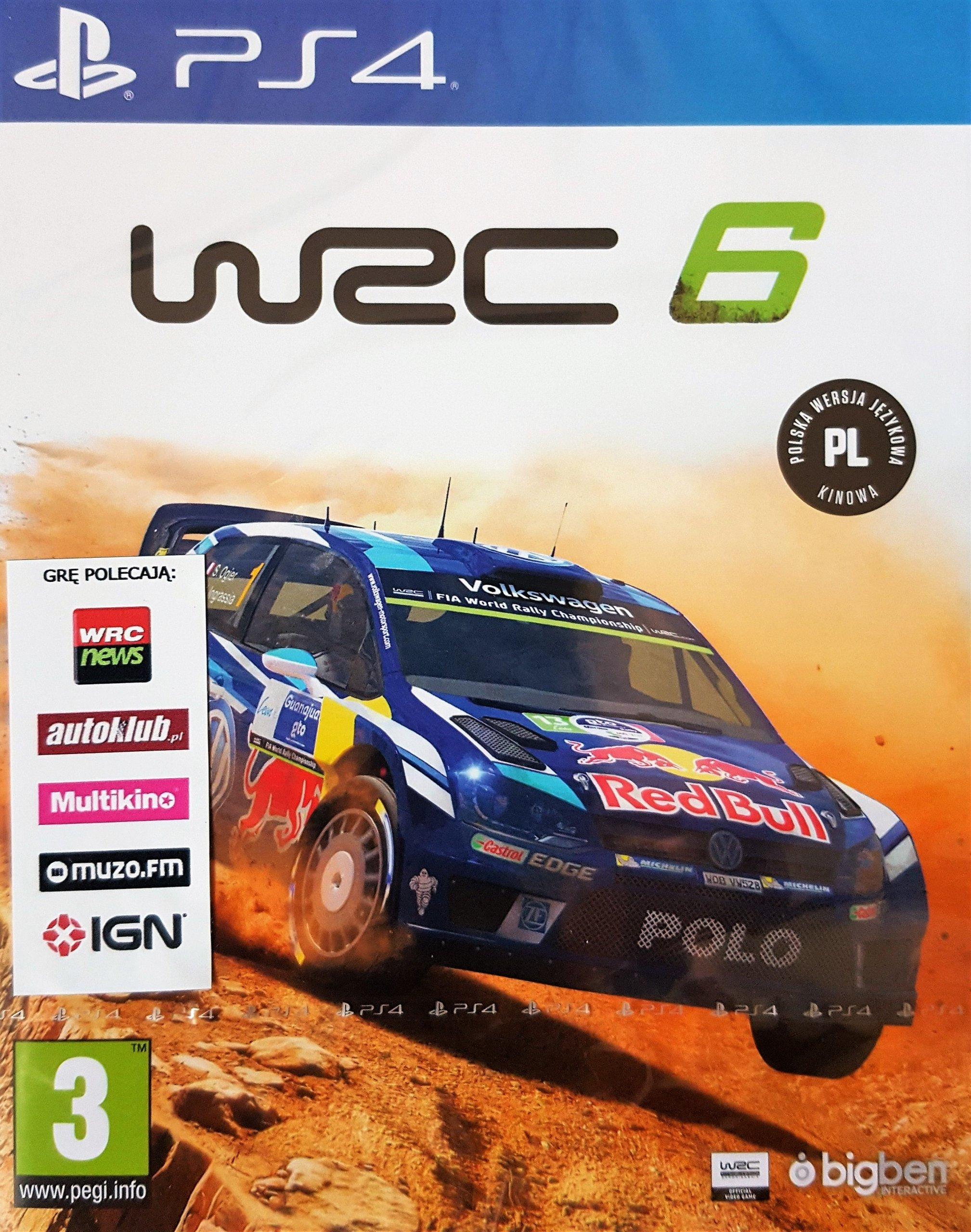 Wrc 6 Pl Ps4 Nowa Sklep Multigames Krakw 7287530382 Oficjalne Sony Fia World Rally Championship