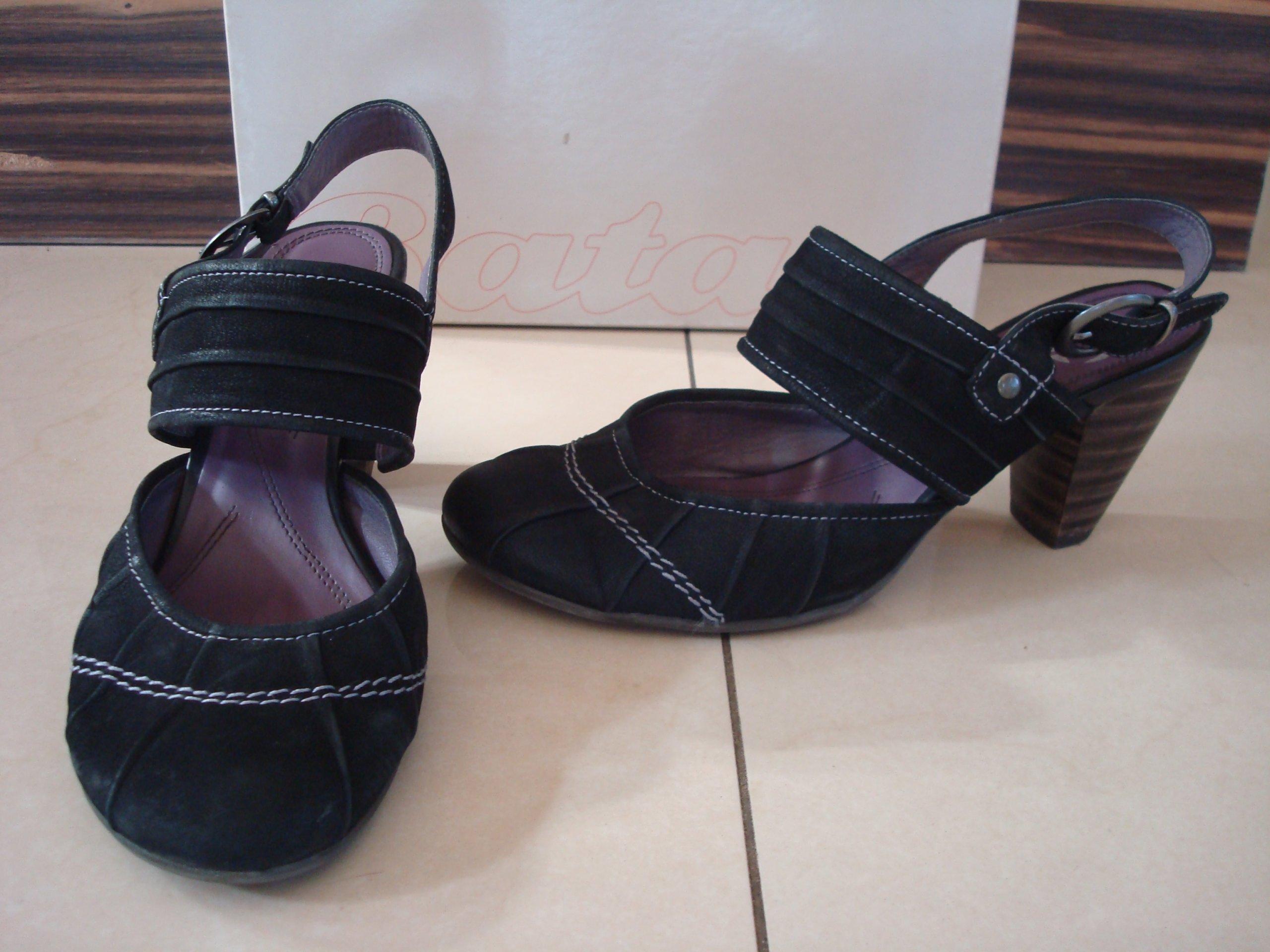 2b178faefd746 Jak nowe skórzane sandały BATA roz. 38 - 7464960049 - oficjalne ...