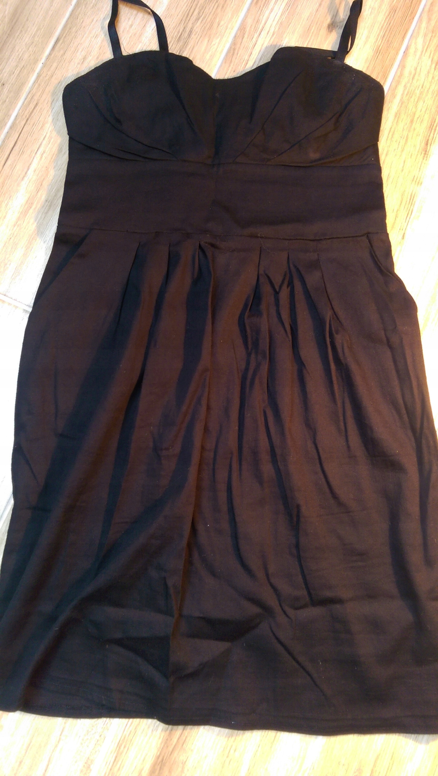 213c3bb427 Sukienka czarna bombka roz 36 - 7603553374 - oficjalne archiwum allegro