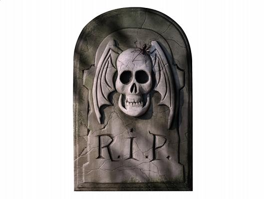 Zawieszka NAGROBEK Dekoracja na Halloween Wwa