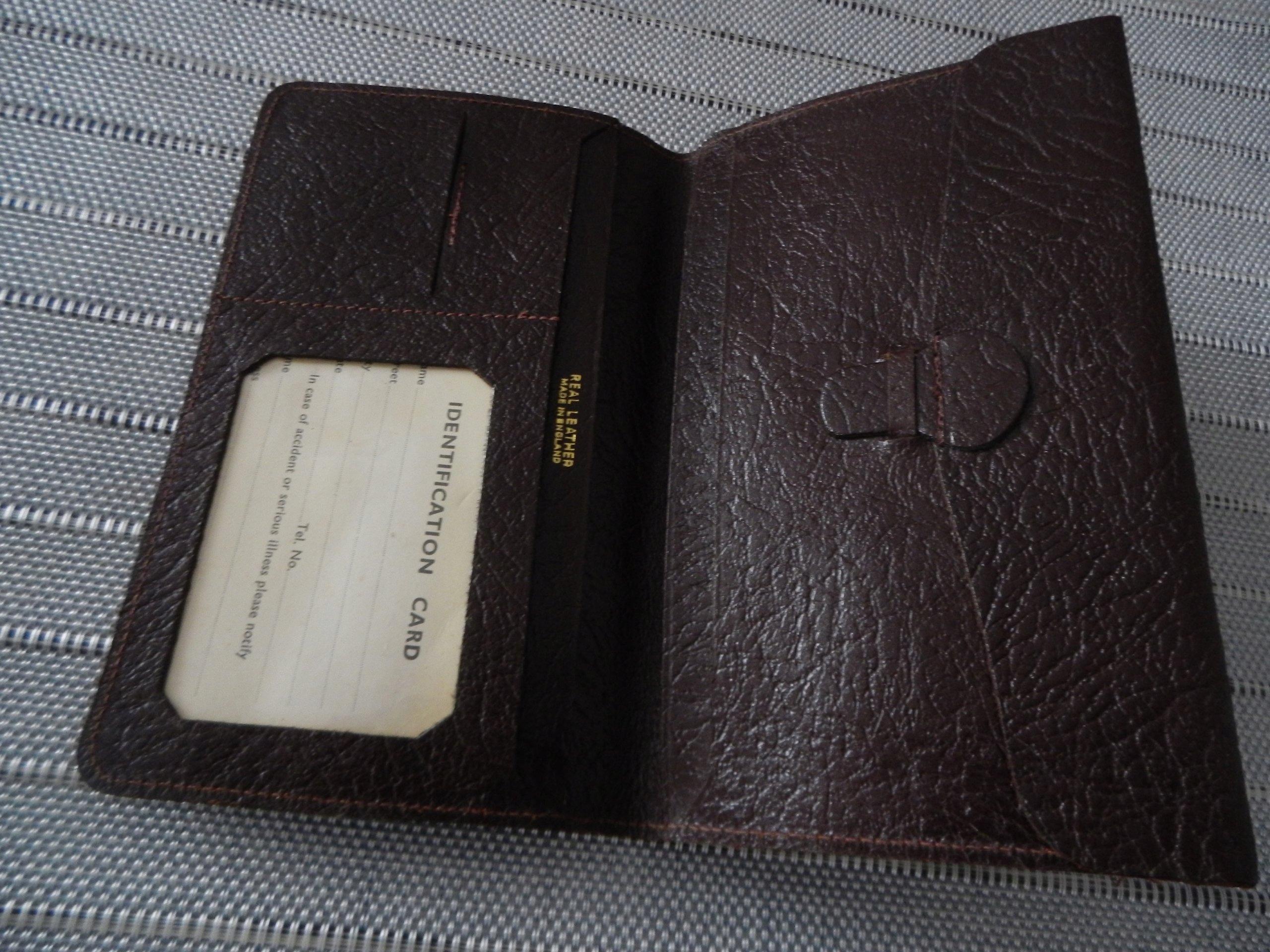 e4b07ad7a860a Portfel męski Real Leather Made in England - 7585845086 - oficjalne ...
