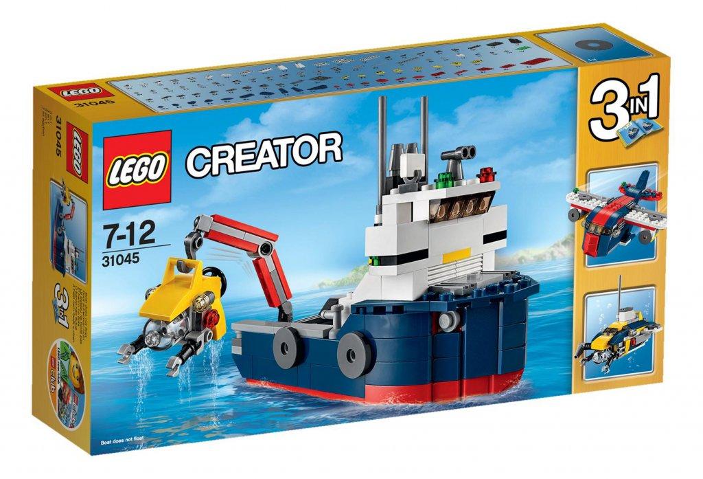 Lego Creator Klocki Badacz Oceanów Zestaw 31045 7030309001