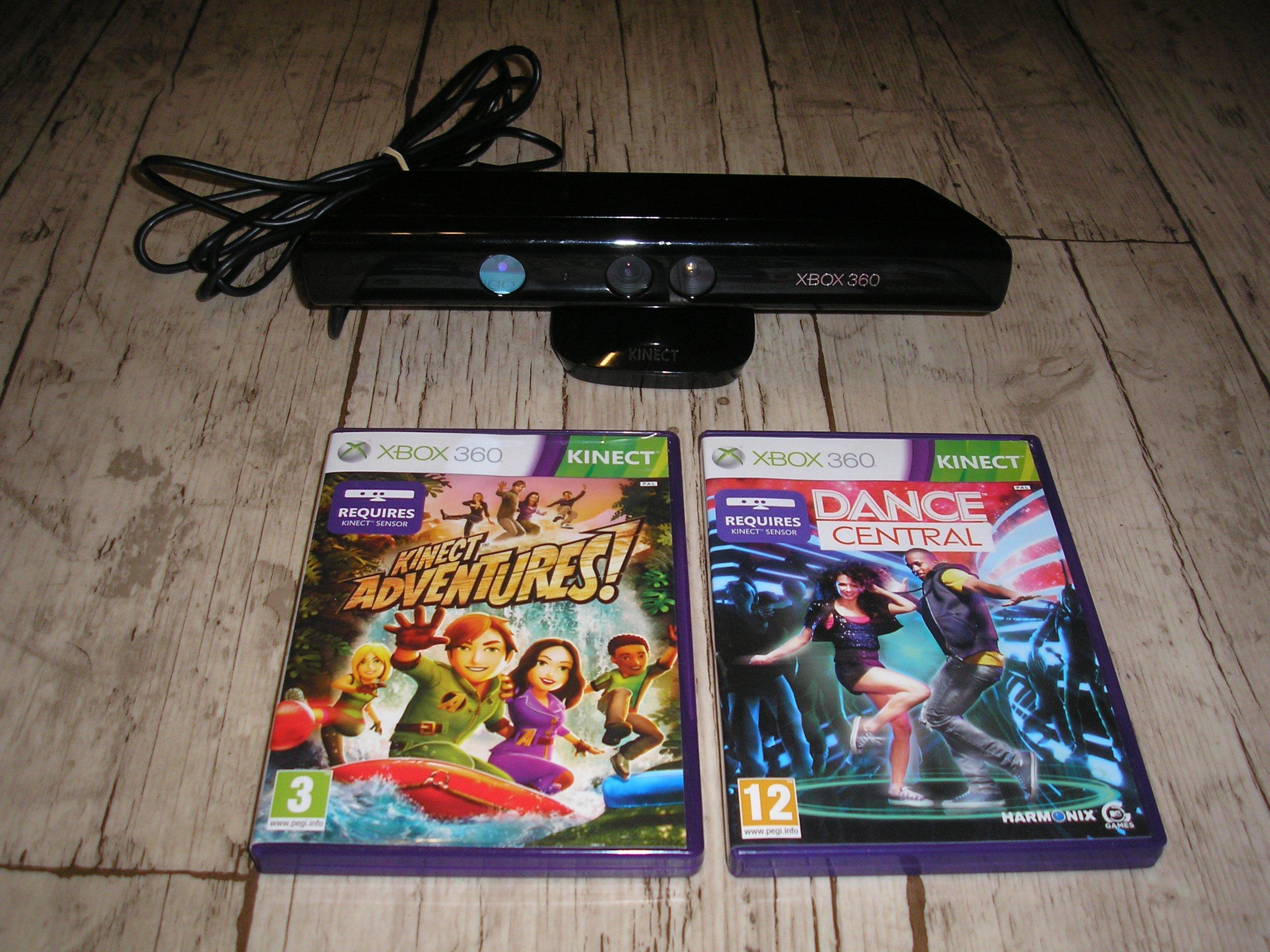 Kinect Sensor Xbox 360 2 Gry Karta Kalibracyjna 7170519738