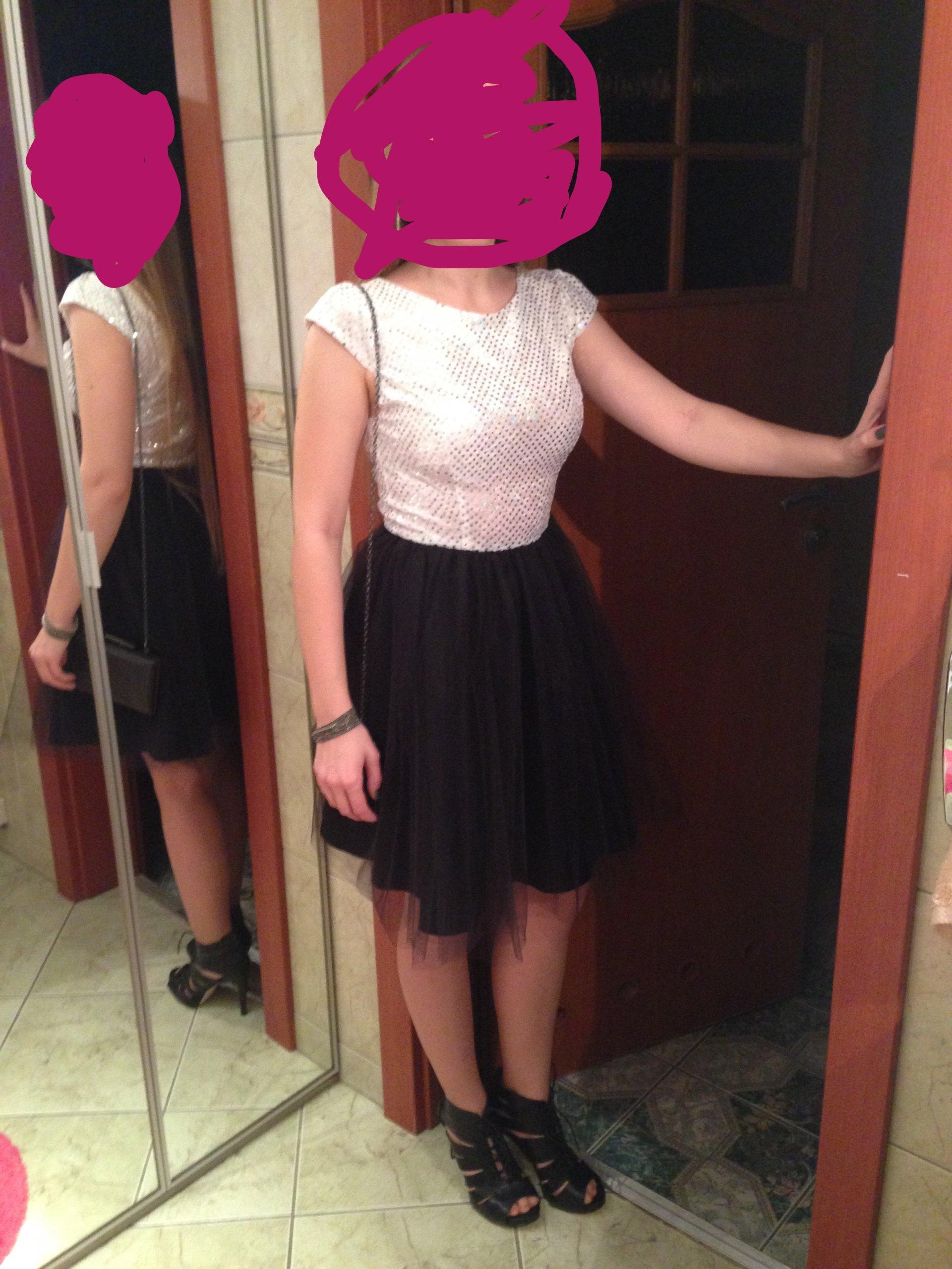 6b26e0e990 Piękna sukienka damska S tiulowa Monnom Boutique. - 7340866331 ...