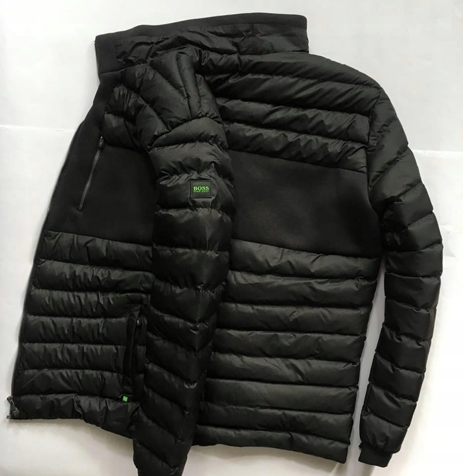 90b8527d19960 HUGO BOSS GREEN kurtka zimowa puchowa pikowana L - 7614953864 ...