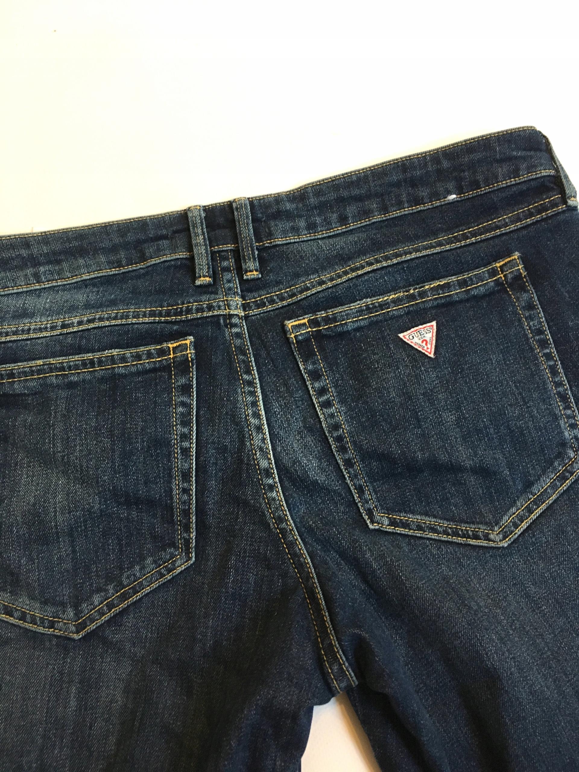 c65e43d82864e9 GUESS spodnie damskie JEANSY MARILYN 30 - 7656247506 - oficjalne ...