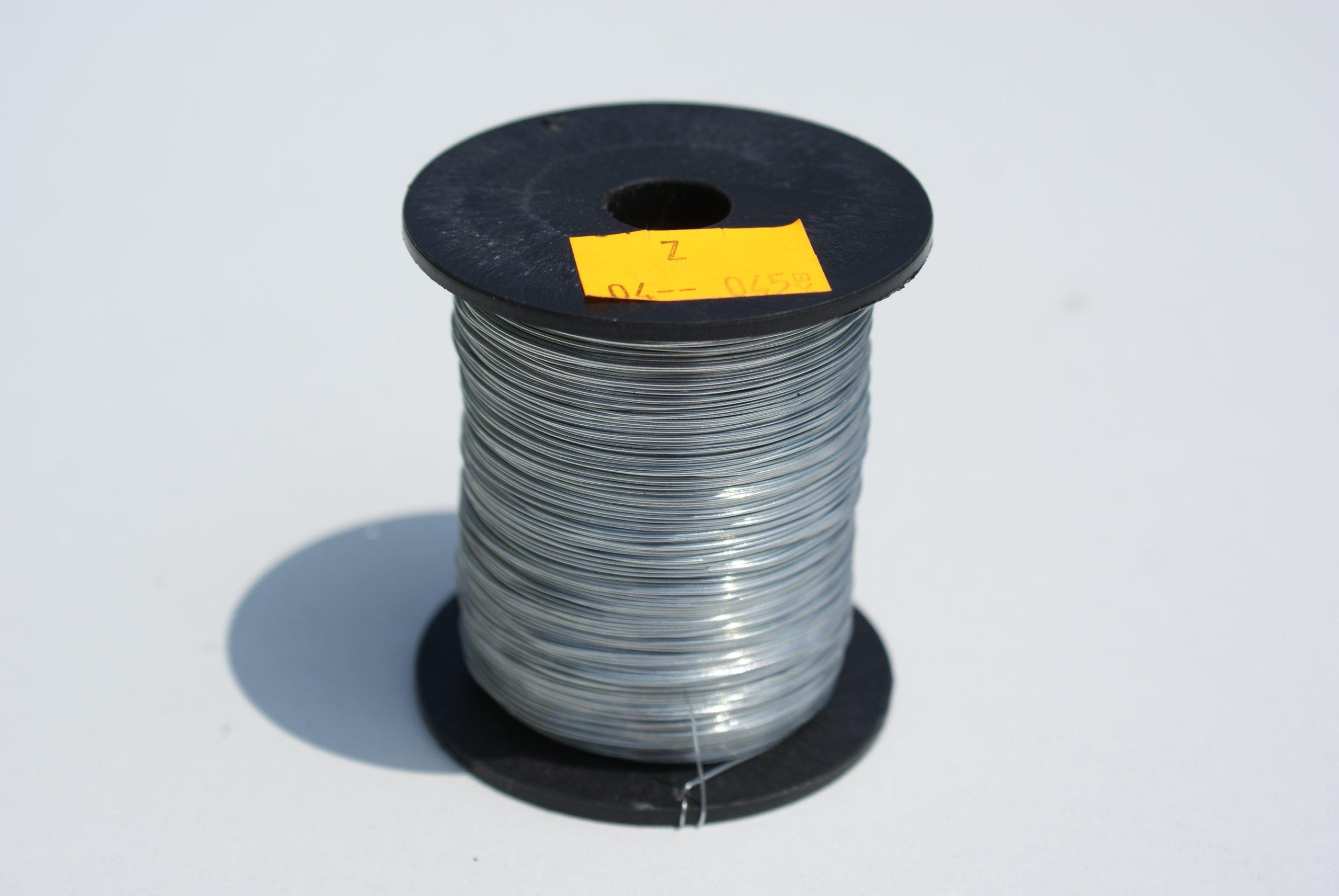 DRUT do węzy ocynkowany fi 0,4 mm (0,45 kg)