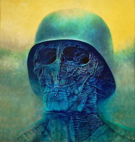 Plakat Zdzisław Beksiński Obraz Reprodukcja 7108591935