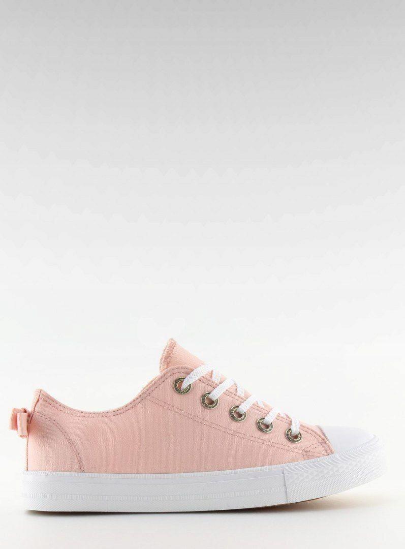 Trampki damskie z kokardką różowe 8935 PINK 40 7425333945
