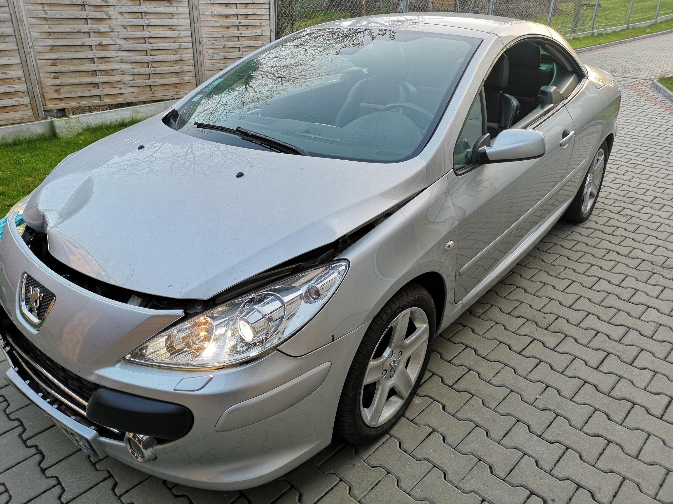 Peugeot 307 CC, xenon 2.0HDI,