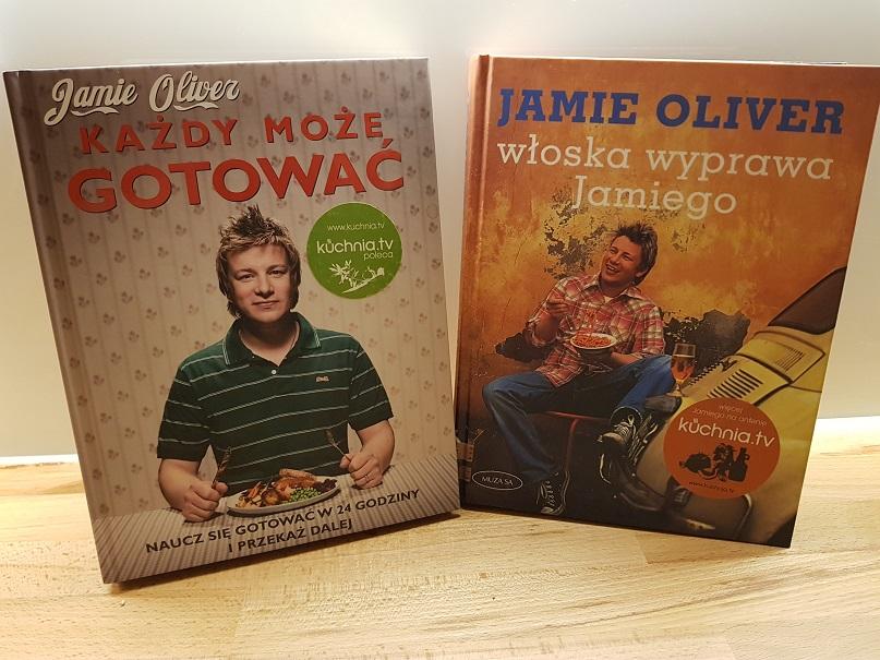 4 Szt Książki Kucharskie Jamie Oliver Gotowanie