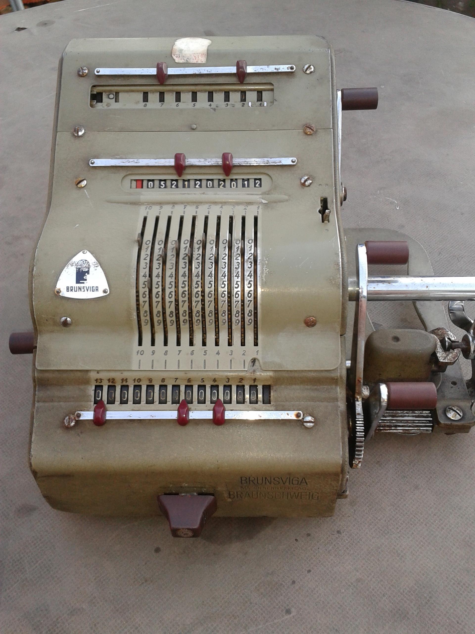 W Ultra Stara maszyna do liczenia BRUNSVIGA - 7440185894 - oficjalne MN72