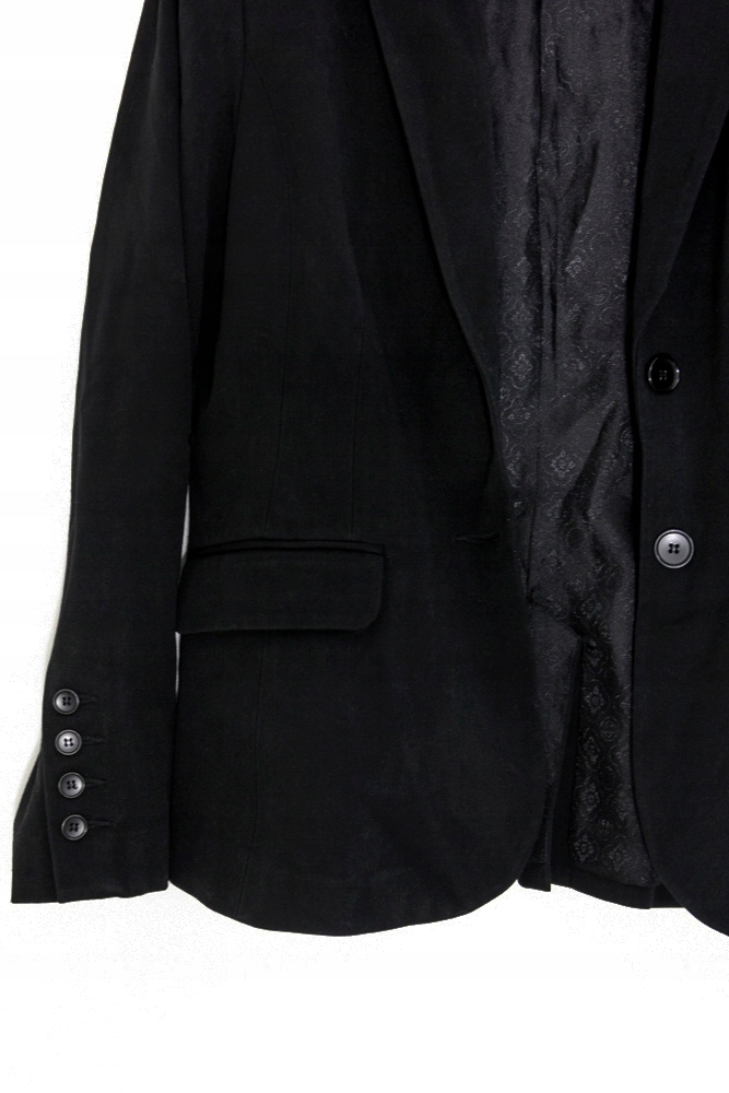 d7ee9a8068e56 H&M czarny żakiet marynarka wiktoriański glam - 7677412894 ...