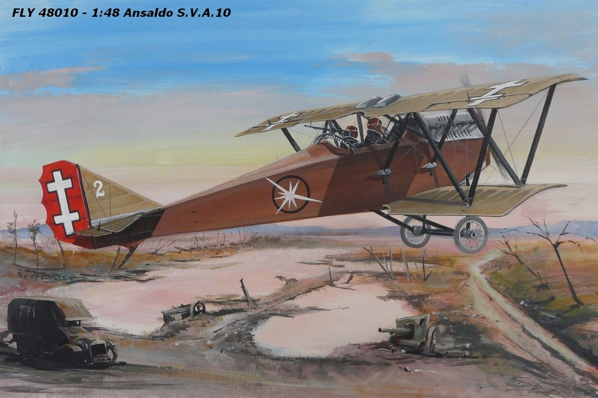 Fly 48010 Ansaldo S.V.A.10 1/48
