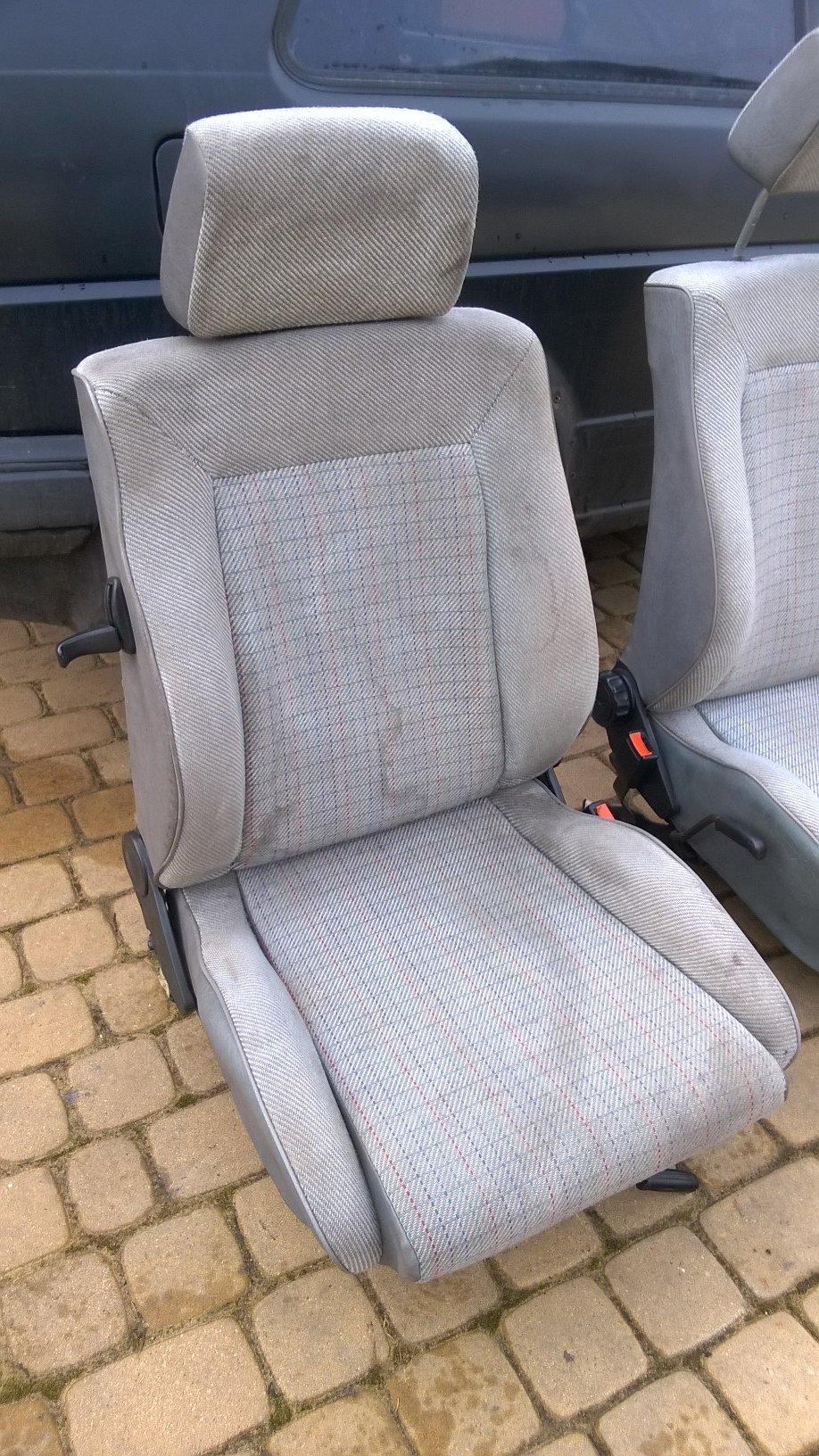 Fotele Golf 2 Ii Gti Kubełkowe Kubły 7229199753