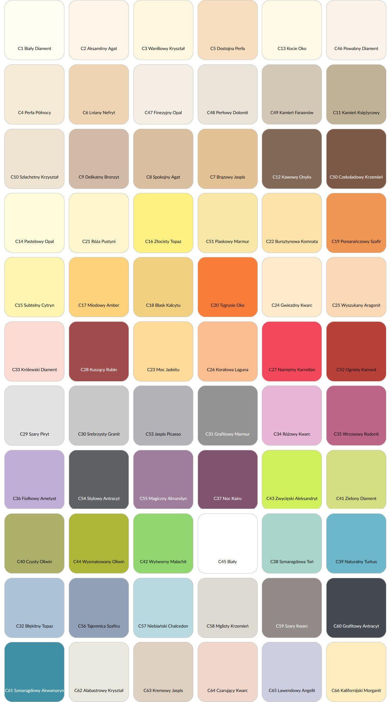 Farba Ceramiczna Magnat Ceramic 2 5l 66 Kolorow 6988262677