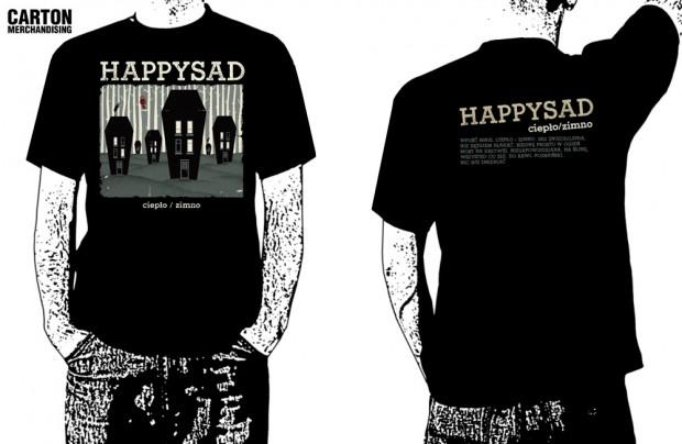 efee5dc15 Happysad - koszulka męska - Ciepło/zimno - rozm.XL - 7335962293 - oficjalne  archiwum allegro