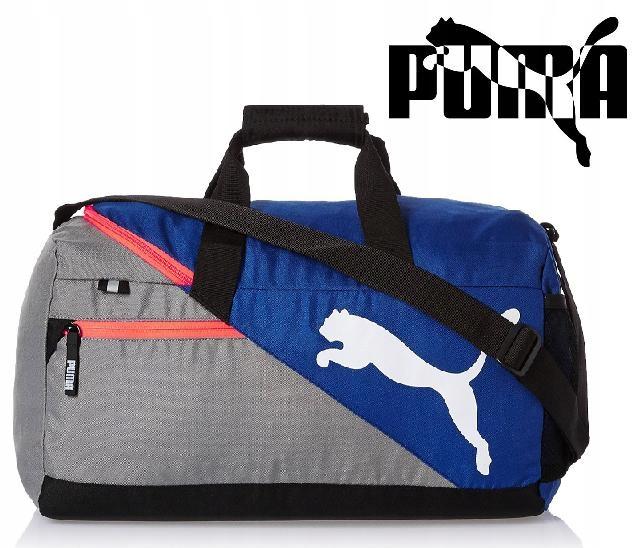 4c9d1c0c340a9 Puma Torba 073499 Fundamentals Sports Bag S niebie - 6864616556 ...
