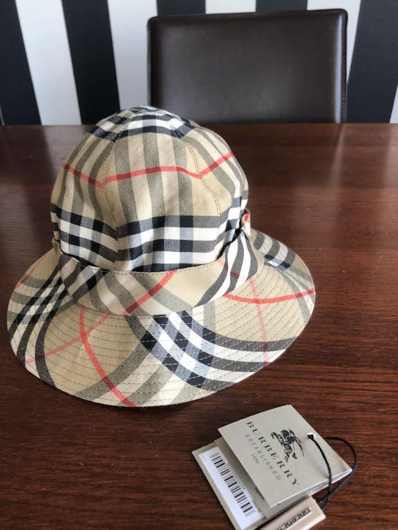 BURBERRY kapelusz dziecięcy roz 54 cm oryginalny
