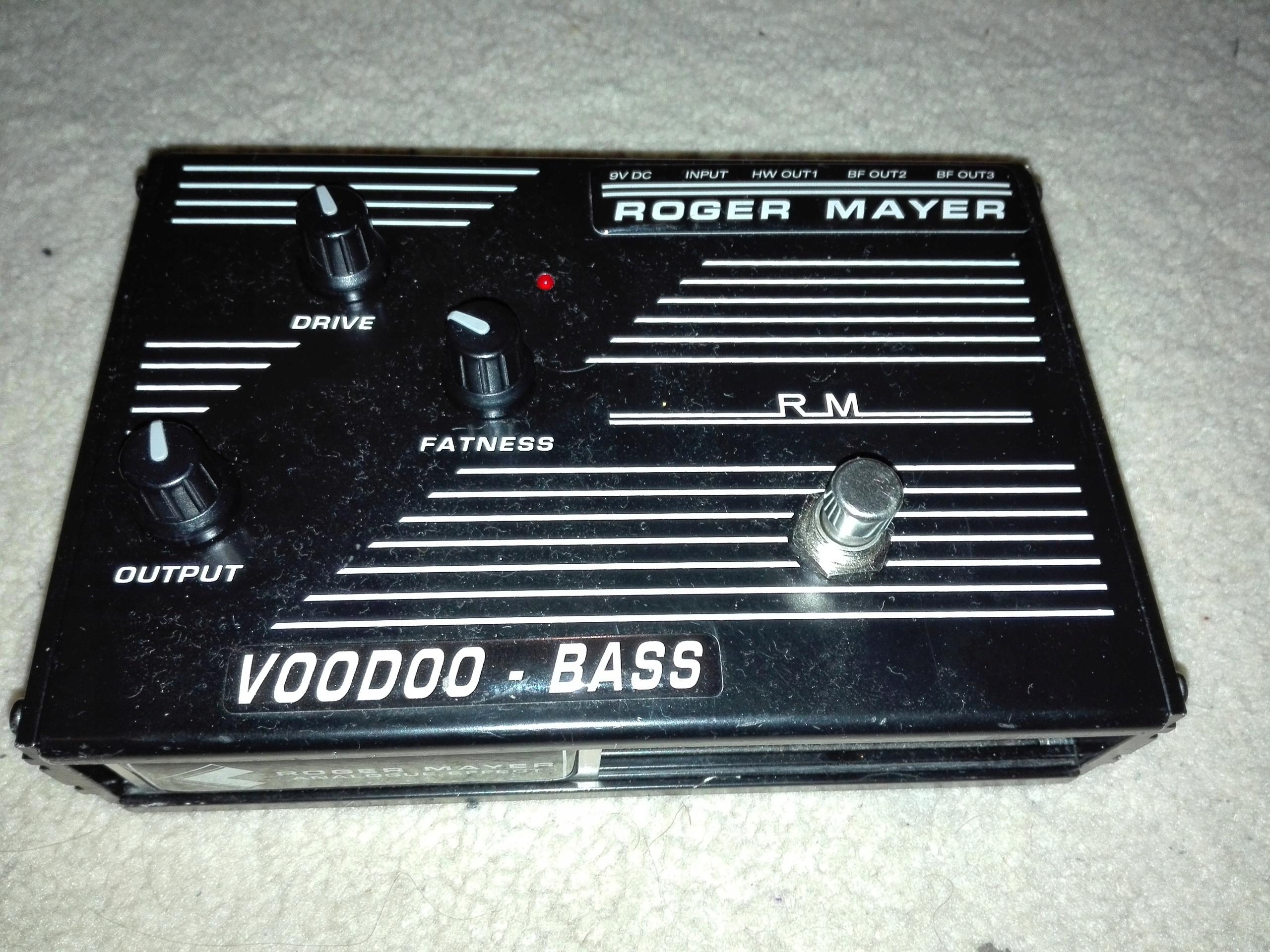 Roger Mayer VooDoo Bass overdrive distortion