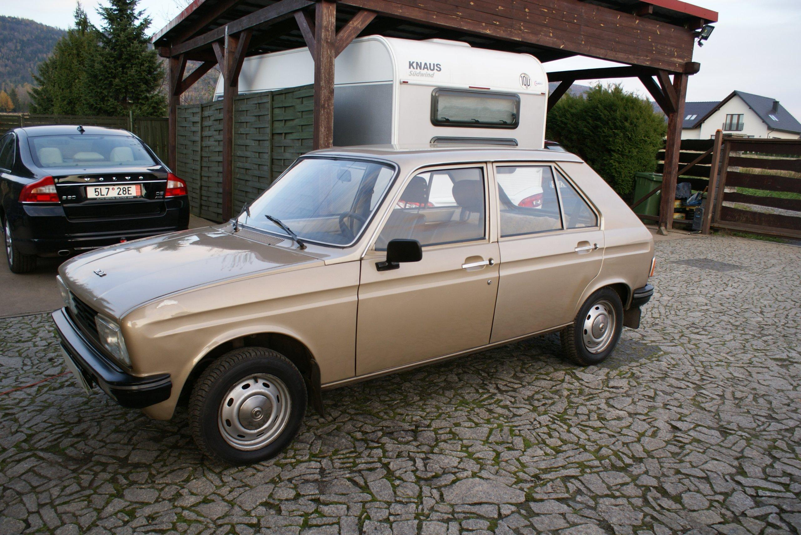 Klasyk końca lat 70-tych  Peugeot 104 -stan bdb