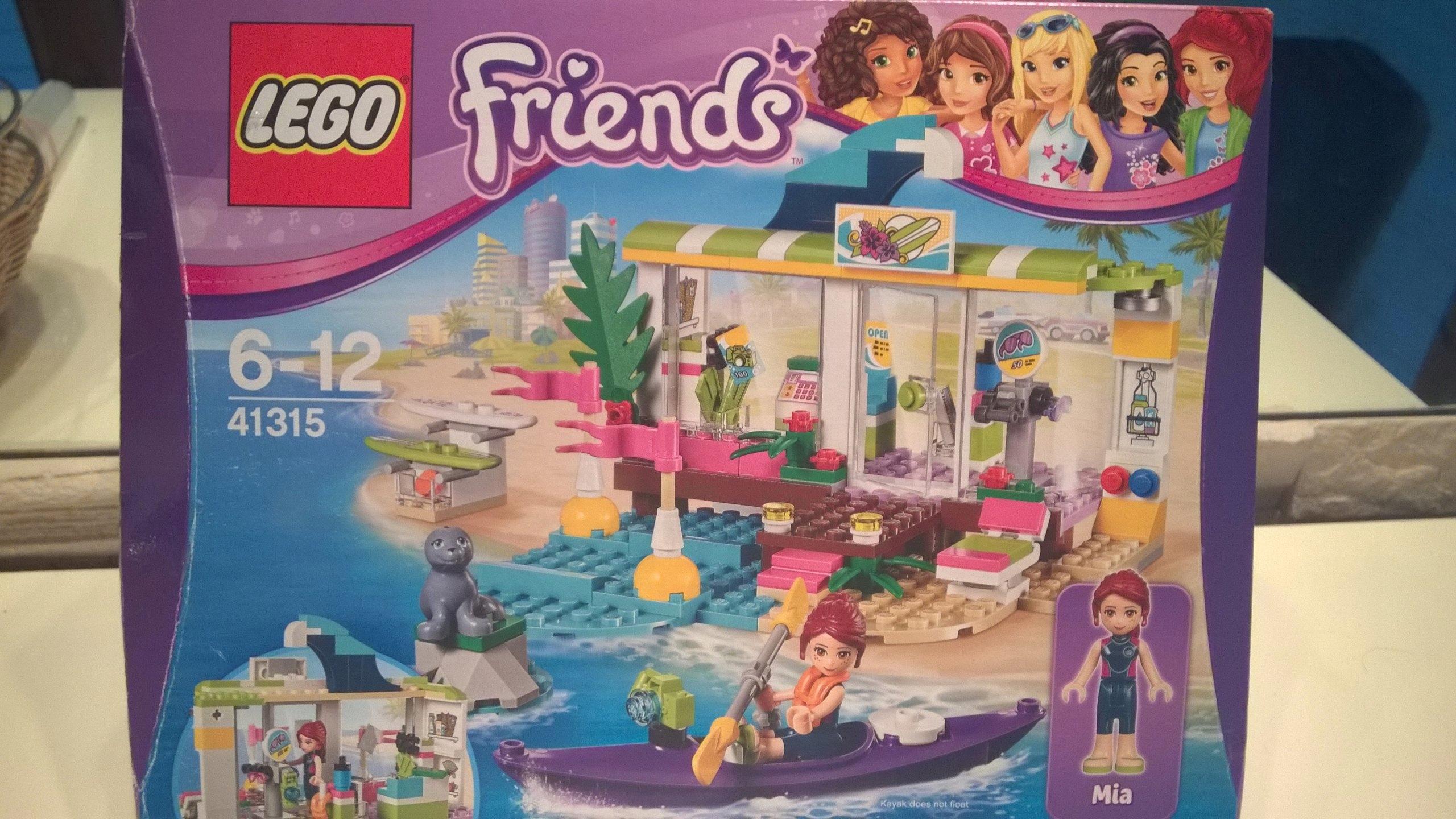 Lego 41315 Friends Sklep Dla Surferów W Heartlake 7442310096