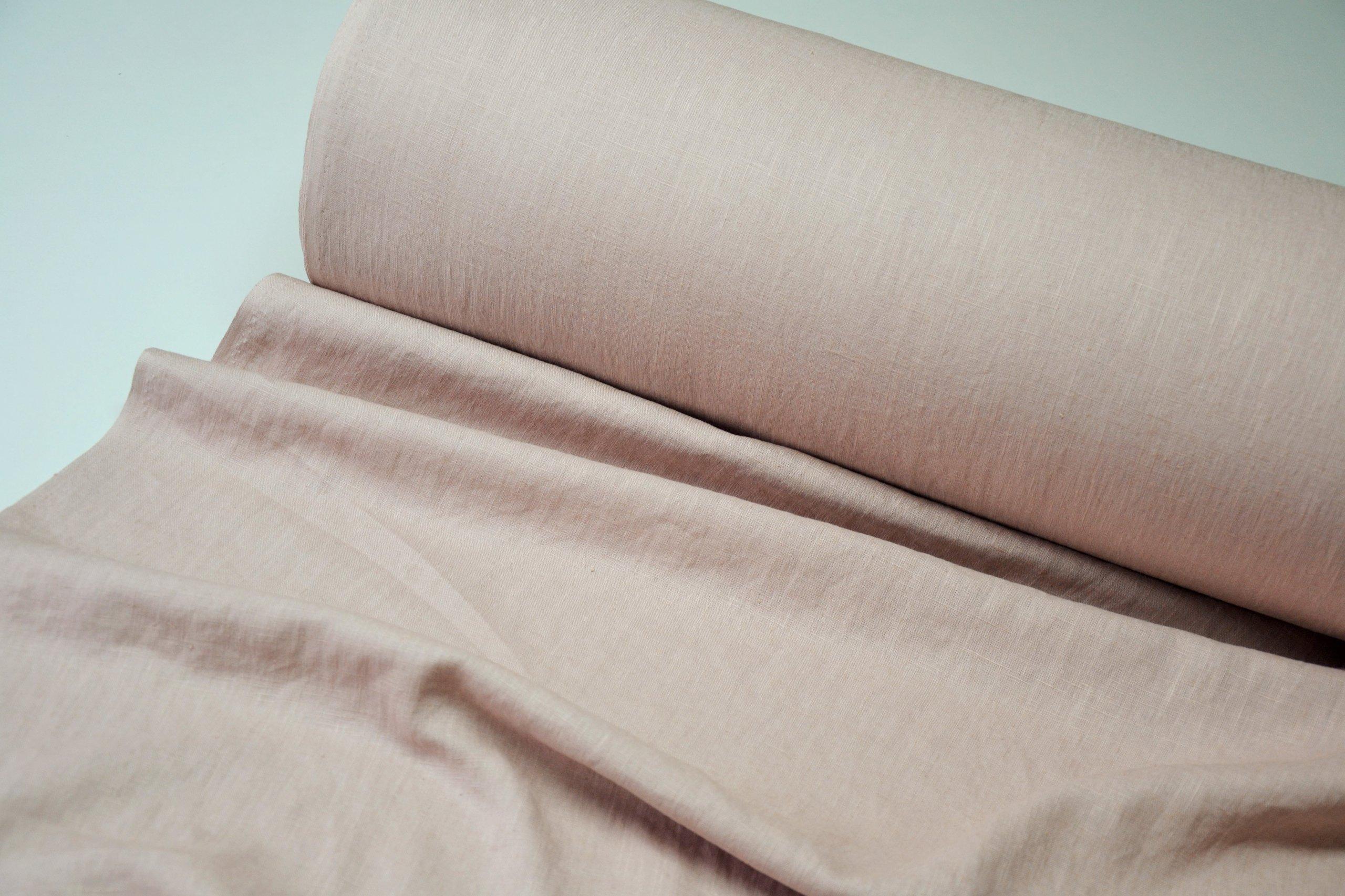 e4544c0db7 LEN 100% koszulowy pościelowy BRUDNY róż k.38 3 - 7216508196 ...