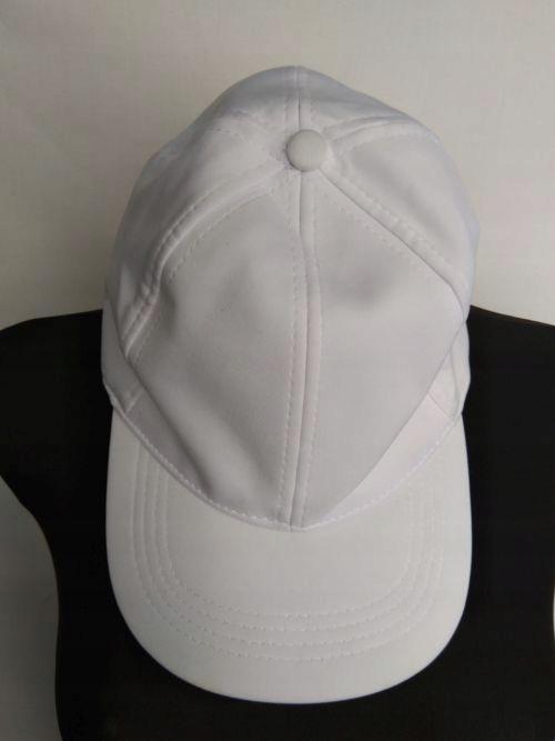 Czapka z daszkiem męska biała