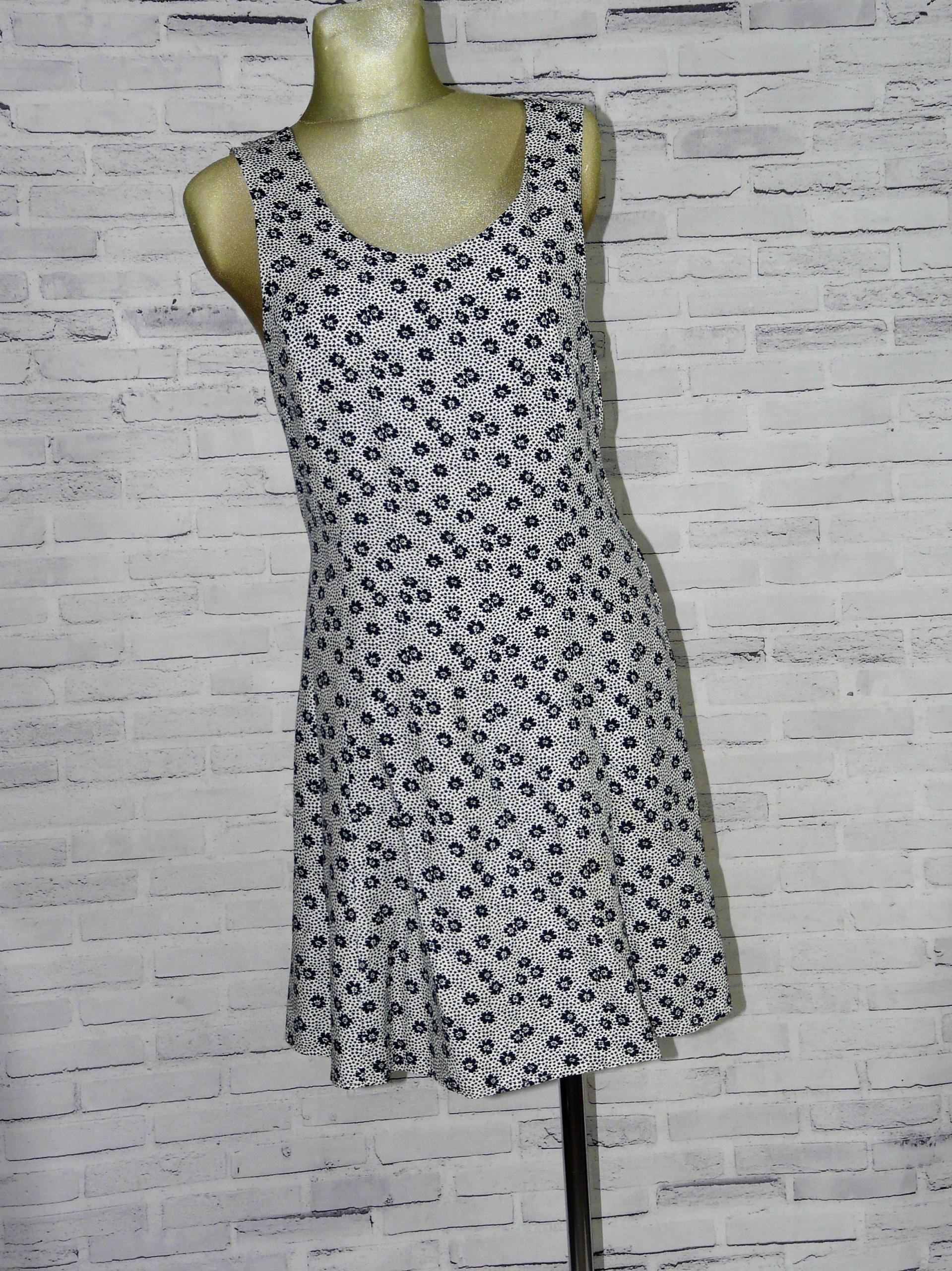 Sukienka letnia zwiewna roz 40 łączka