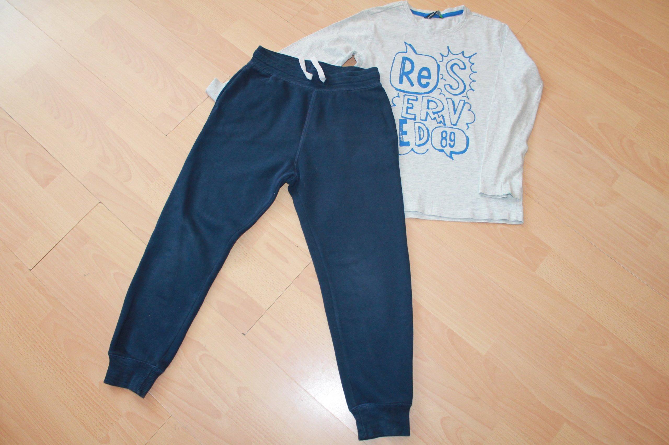 30cf4061f13b3 Spodnie dresowe H&M+bluzka Reserved gratis 134 - 7219460360 ...
