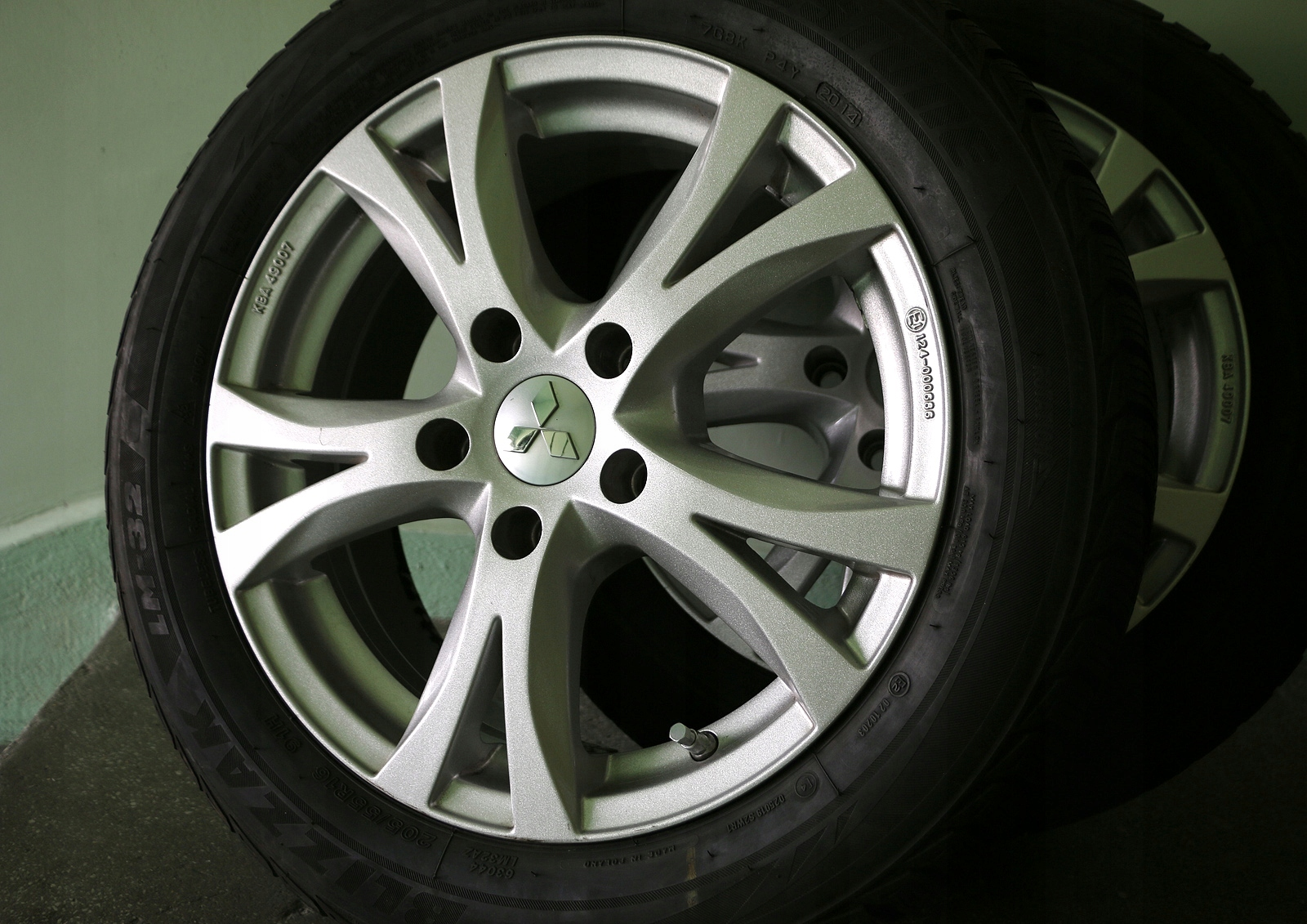 Felgi 16 Opony Zimowe 20555r16 Bridgestone 4 Szt 7584010745